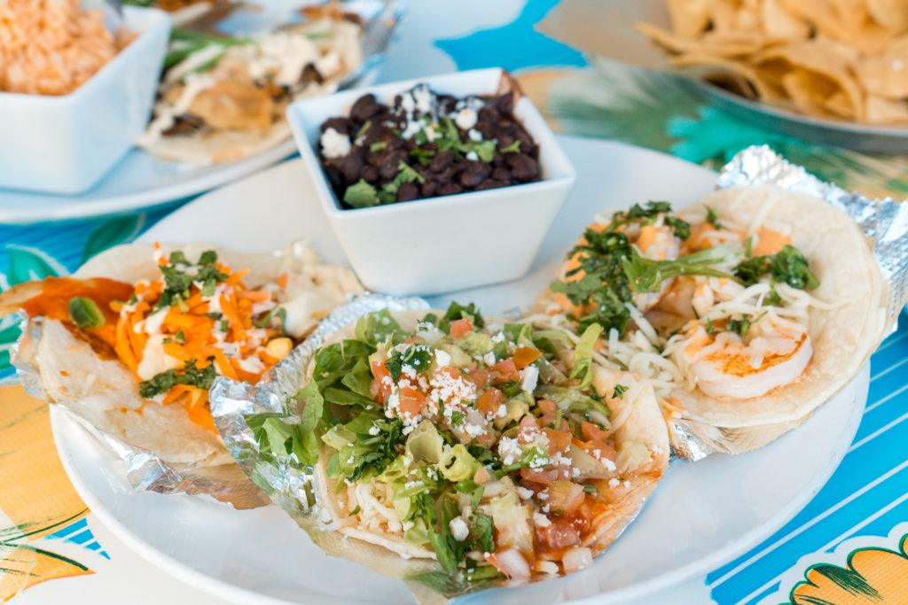 Tacos from The Fold in Little Rock - best places to eat in Little Rock