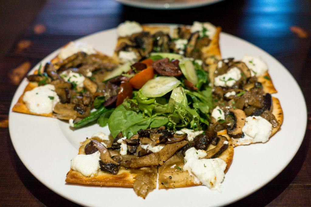 Goat cheese flatbread from The Pantry in Little Rock