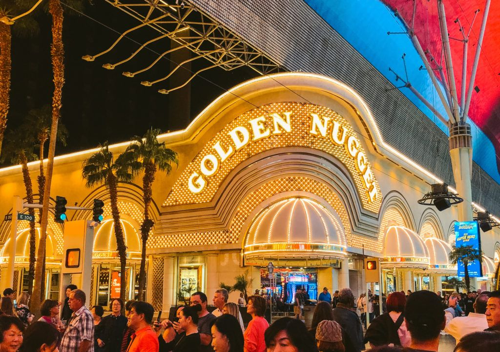 The Golden Nugget in Las Vegas