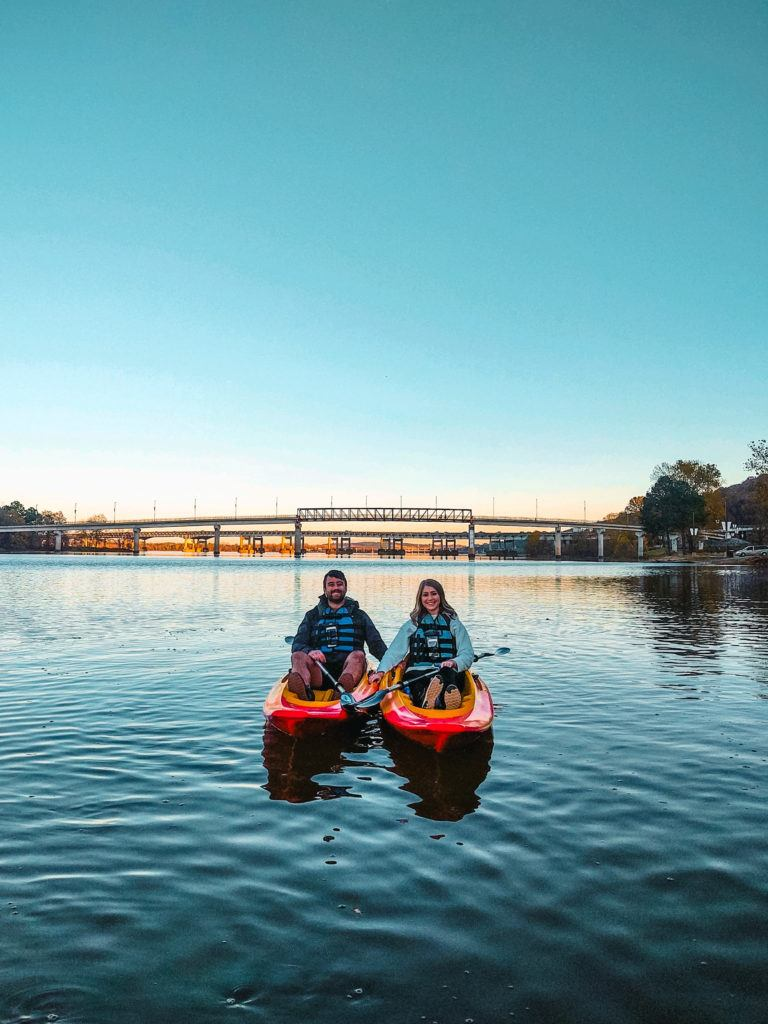 Kayak tour with Rock Town River Outfitters in Little Rock, Arkansas - things to do on a weekend in Little Rock
