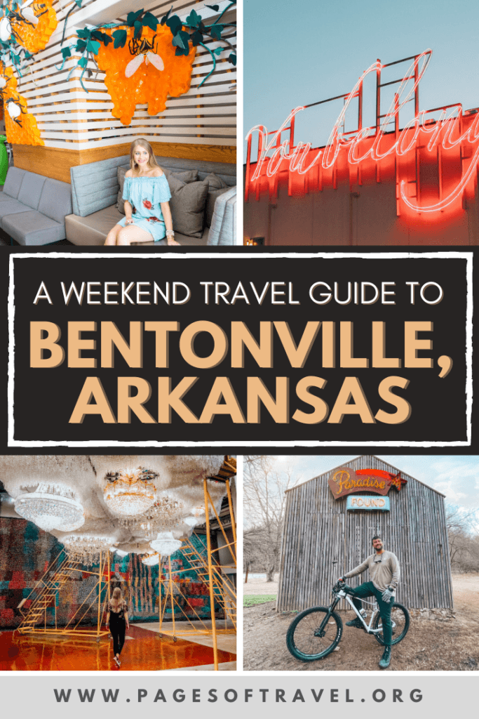 Bentonville, Arkansas is one of the best places to visit in Northwest Arkansas! This travel guide will cover things to do in Bentonville, places to eat in Bentonville, and other travel tips!