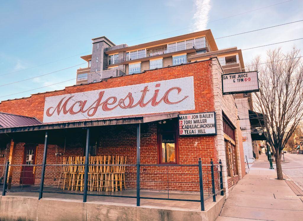 George's Majestic in Fayetteville, Arkansas