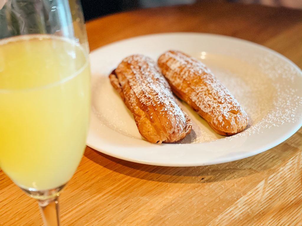 Eclairs from Pressroom - places to eat in Northwest Arkansas