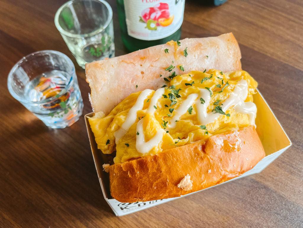 Fluffy Egg Toast from Spoon Fusion Korea Oh K-Dog