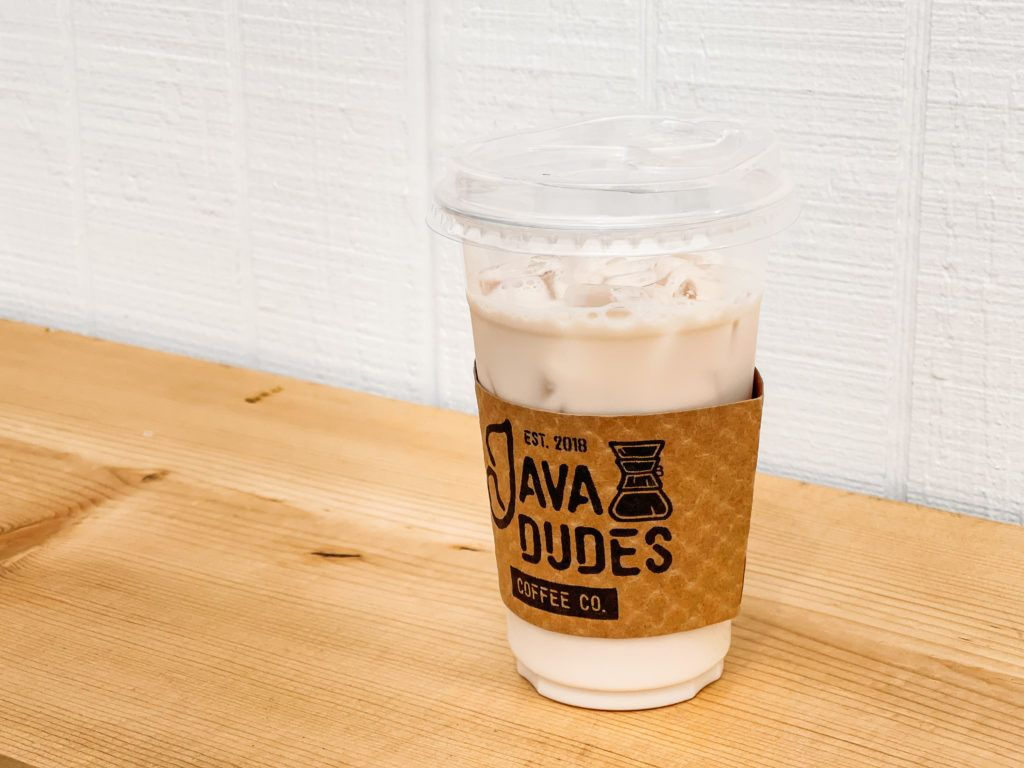 Iced Lavender Fog drink from Java Dudes in Rogers, Arkansas - coffee shops in Northwest Arkansas