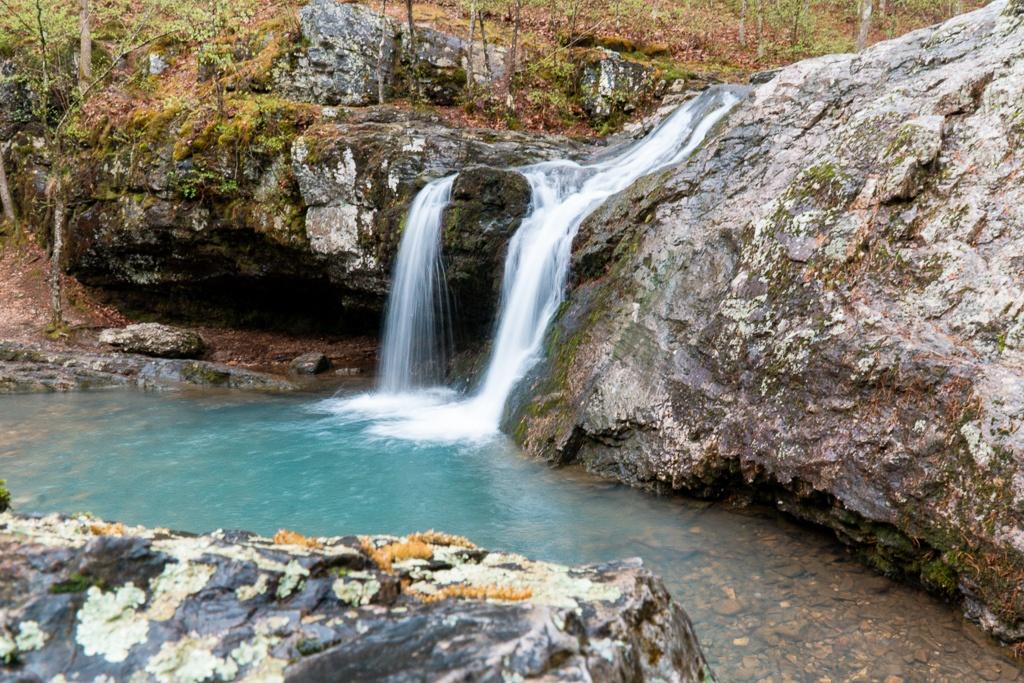 Falls Branch Falls in Lake Catherine State Park in Hot Springs, Arkansas