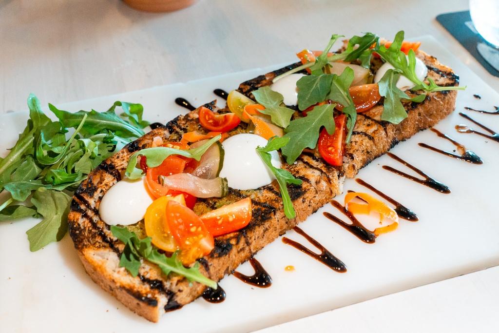 Bruschetta from méLange in Sarasota - Sarasota restaurants