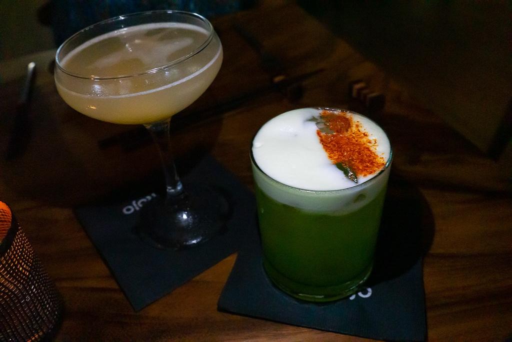 Cocktails from Kojo in Sarasota, Florida