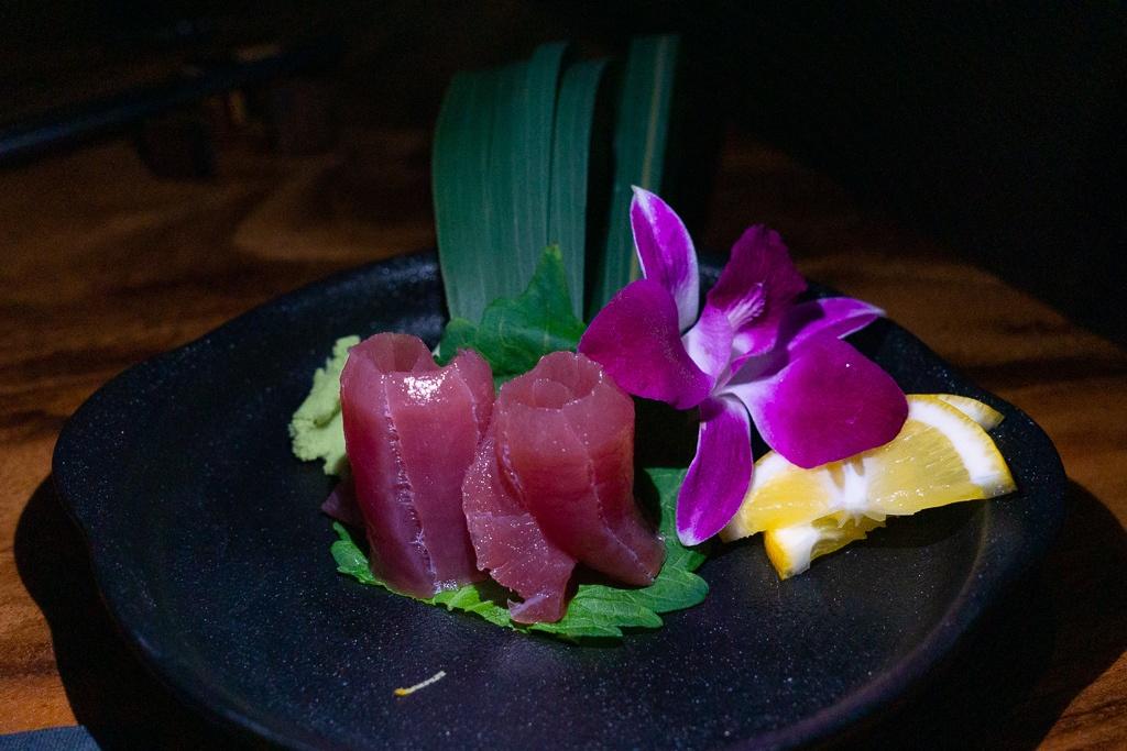 Big Eye Tuna sashimi from Kojo in Sarasota, Florida best restaurants in Sarasota