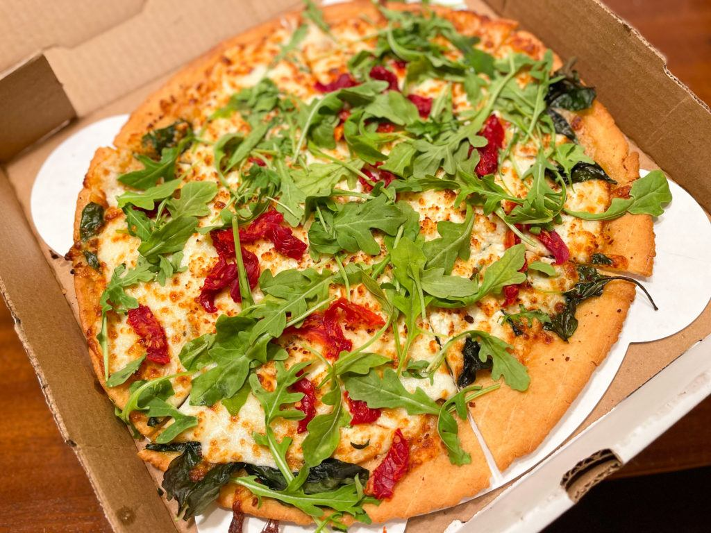 Palmer Sting Pizza from Origin Craft Beer & Pizza in Sarasota, Florida
